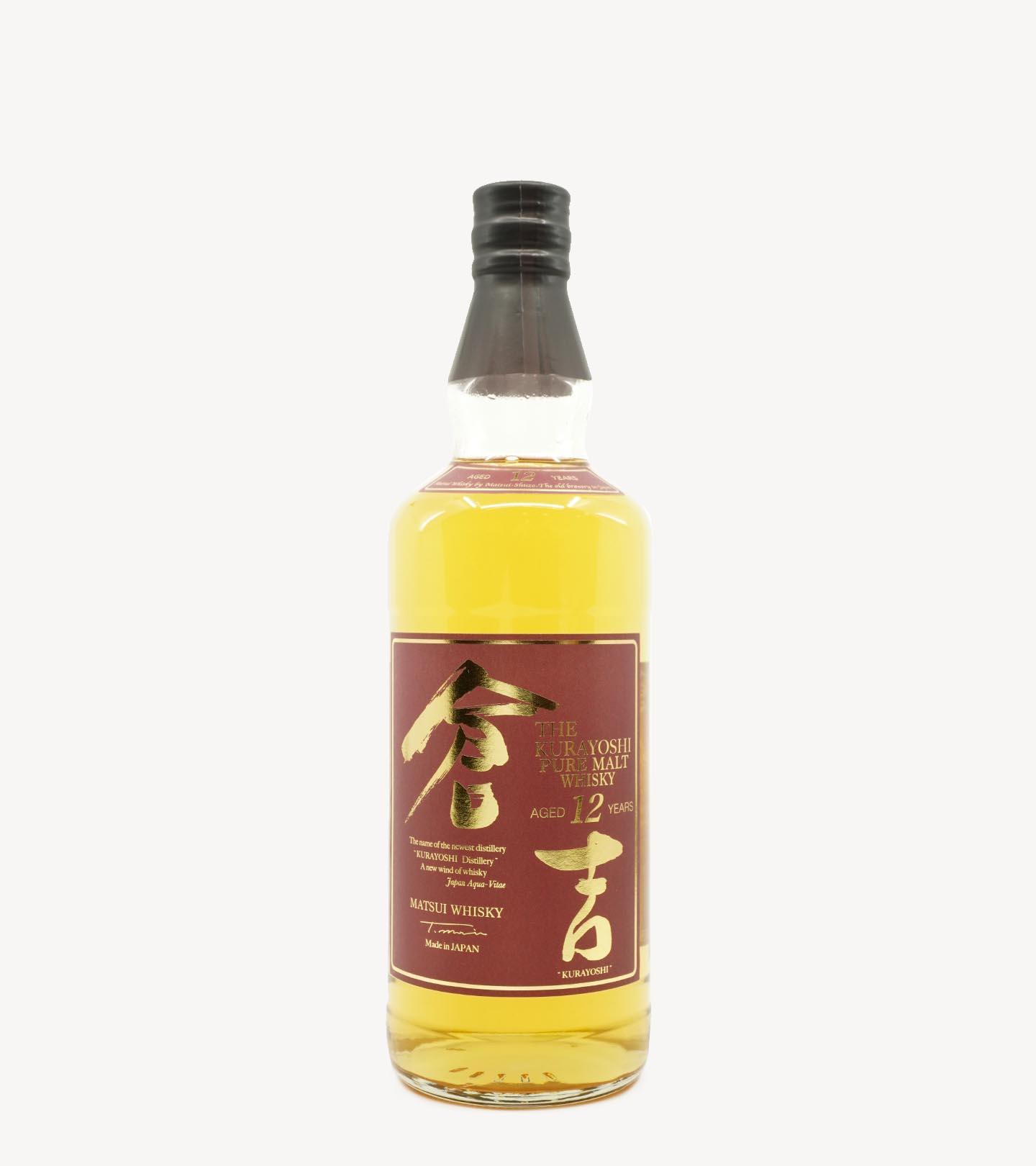 Whisky Malte The Kurayoshi 12 Anos 70cl