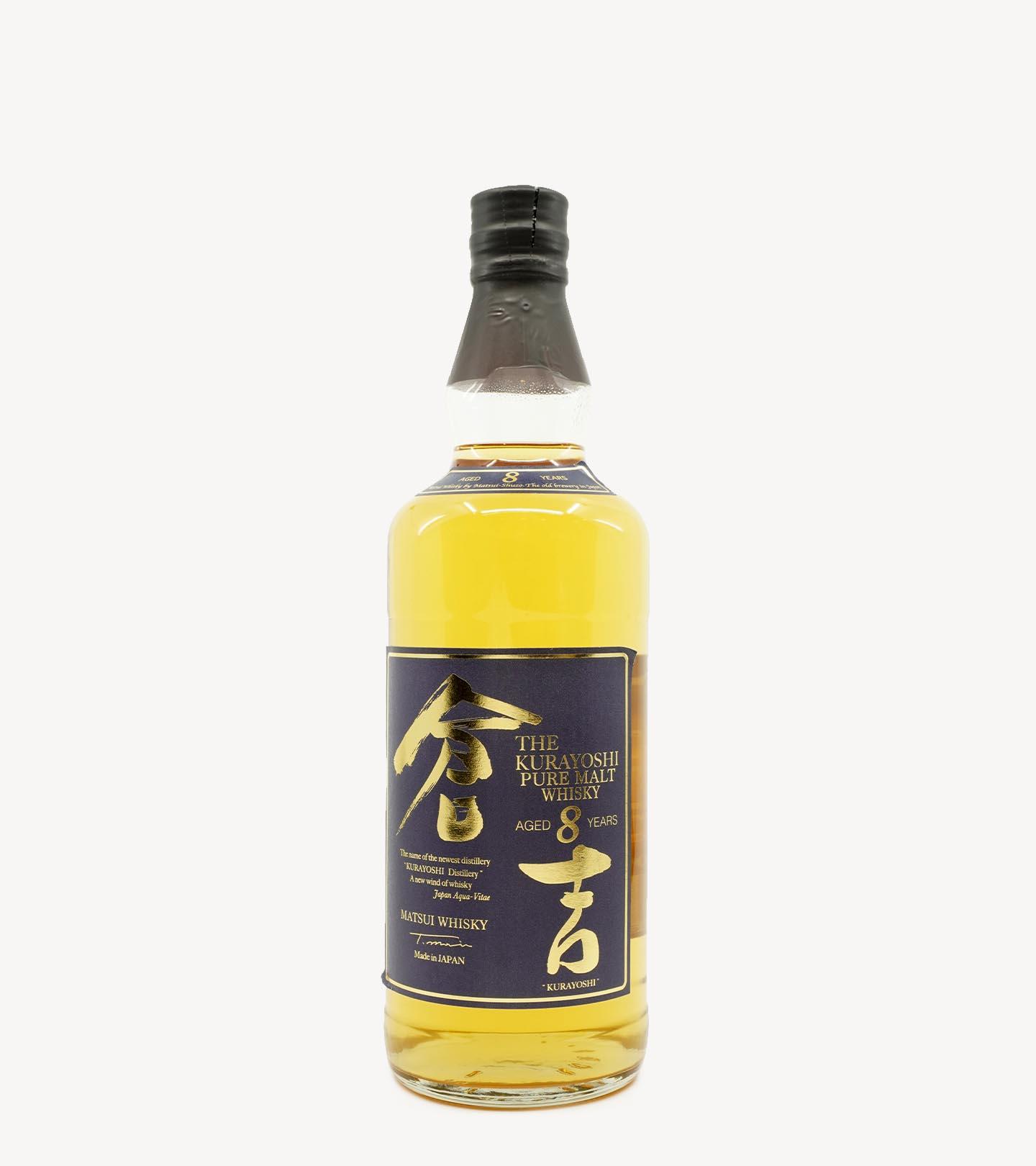 Whisky Malte The Kurayoshi 8 Anos 70cl
