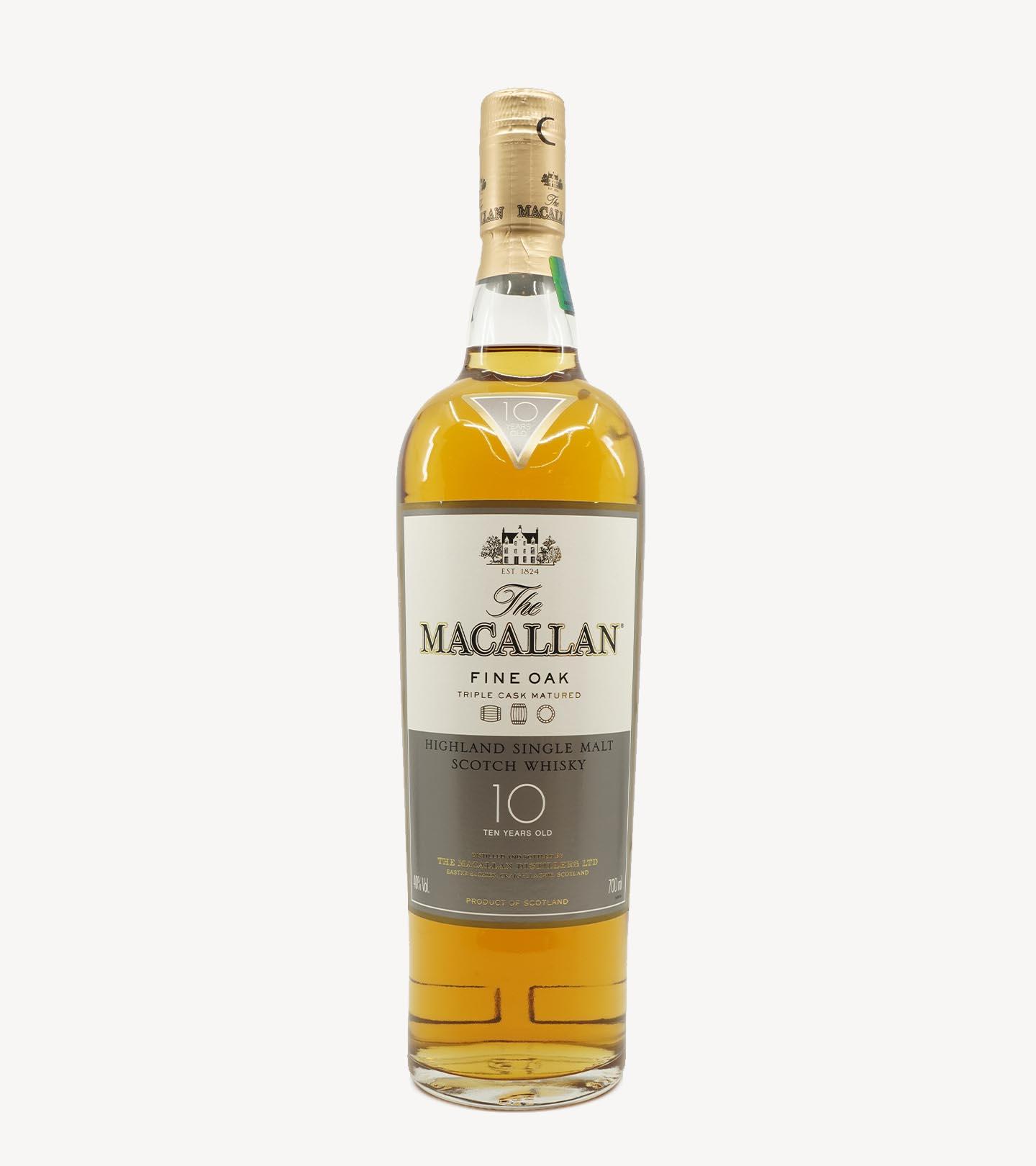 Whisky The Macallan Fine Oak 10 Anos 70cl