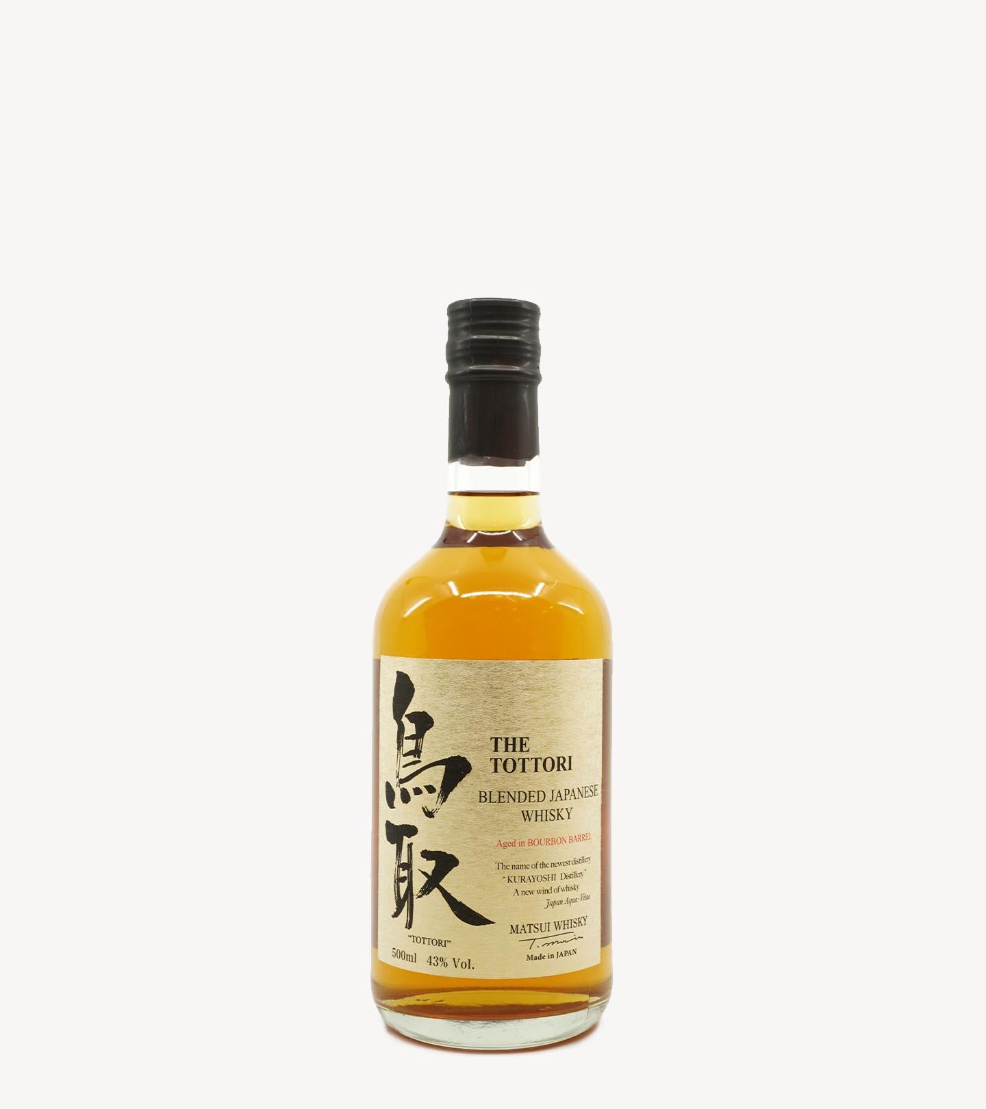 Whisky The Tottori Bourbon Barrel 50cl
