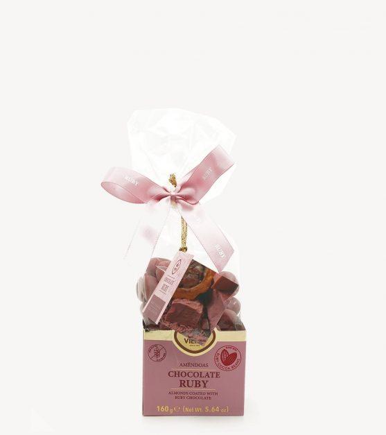 Amêndoas c/ Chocolate Ruby Vieira 160g