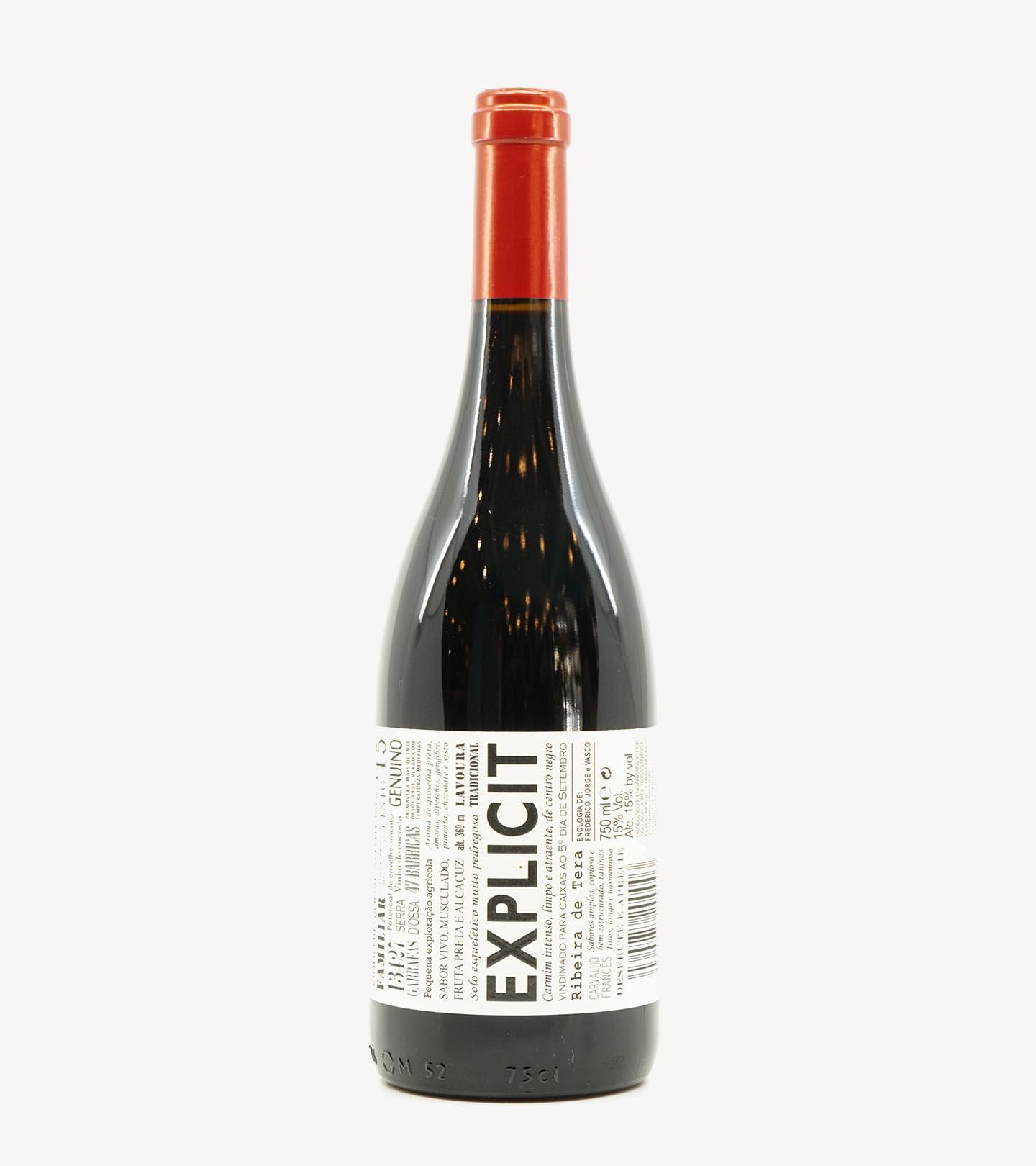 Vinho Tinto Alentejano Explicit 75cl